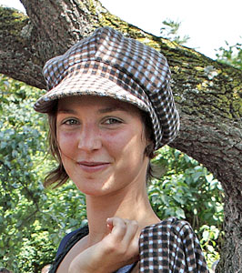 Elisabeth Schlögl bei der Modenschau 2011