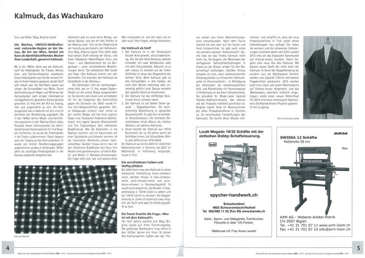 Artikel Kalmuck, das Wachaukaro-1