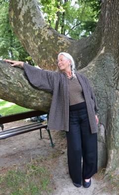 Kalmuck-Kimono >> Fotoshooting Margarete