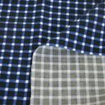 Kalmuck Baumwolldruck blau