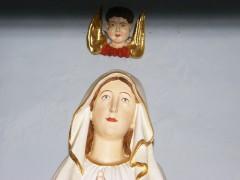 Maria mit Herrn Engel