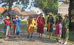 Liparski-Wachaukaro-Dirndl, die farbliche Bandbreite