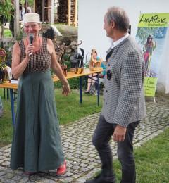 Designerin Brigitta Lipold,Organisator Herr Wolfgang Paar
